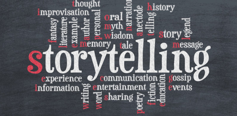 storytelling keywords